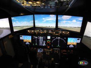 737-MAX8 シミュレーター導入